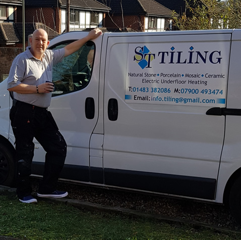 Tiler in Woking Surrey